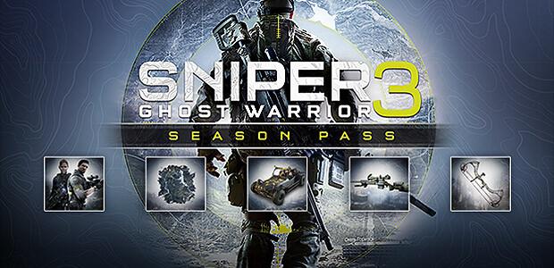 Sniper Ghost Warrior 3 - Season Pass - Cover / Packshot