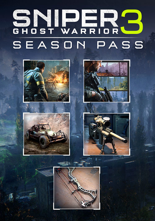 Sniper Ghost Warrior 3 - Season Pass - Cover / Packshot