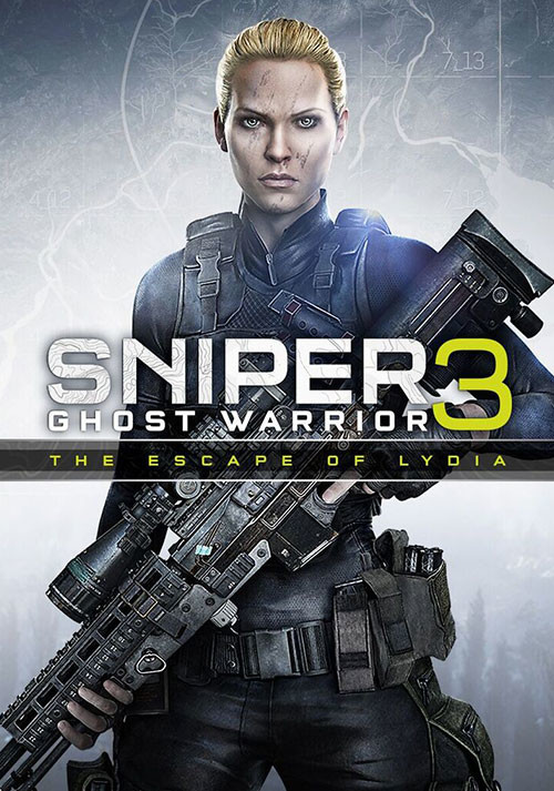 Sniper Ghost Warrior 3 - The Escape of Lydia - Cover / Packshot