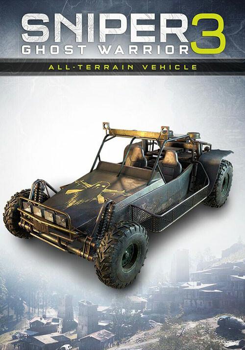 Sniper Ghost Warrior 3 - All-terrain vehicle - Cover / Packshot