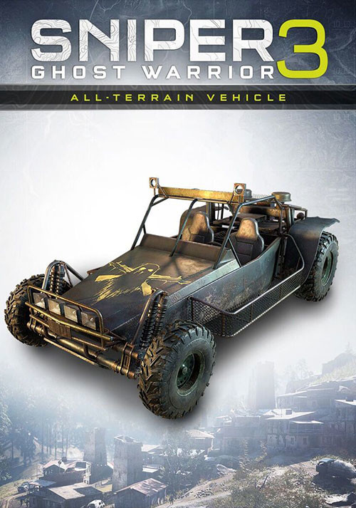 Sniper Ghost Warrior 3 - All-terrain vehicle - Cover / Packshot