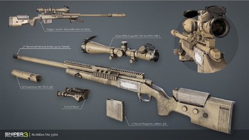 Screenshot1 - Sniper Ghost Warrior 3 - Sniper Rifle McMillan TAC-338A