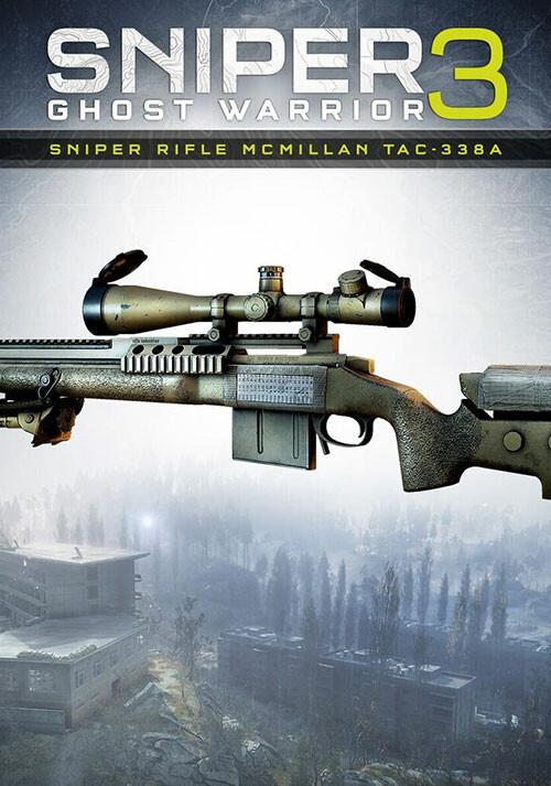 Sniper Ghost Warrior 3 - Sniper Rifle McMillan TAC-338A - Cover / Packshot