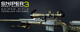 Sniper Ghost Warrior 3 - Sniper Rifle McMillan TAC-338A