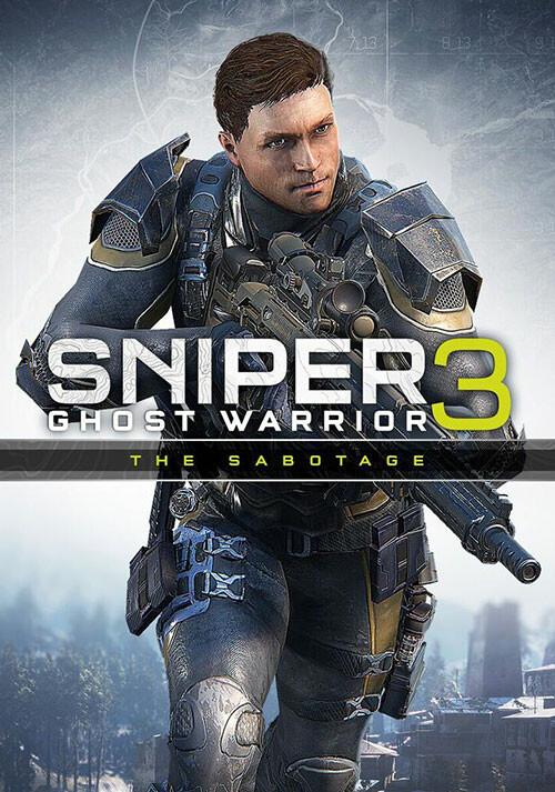 Sniper Ghost Warrior 3 - The Sabotage - Cover / Packshot