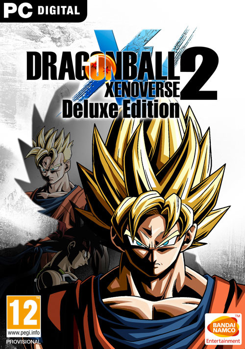 DRAGON BALL Xenoverse 2 - Deluxe Edition - Cover