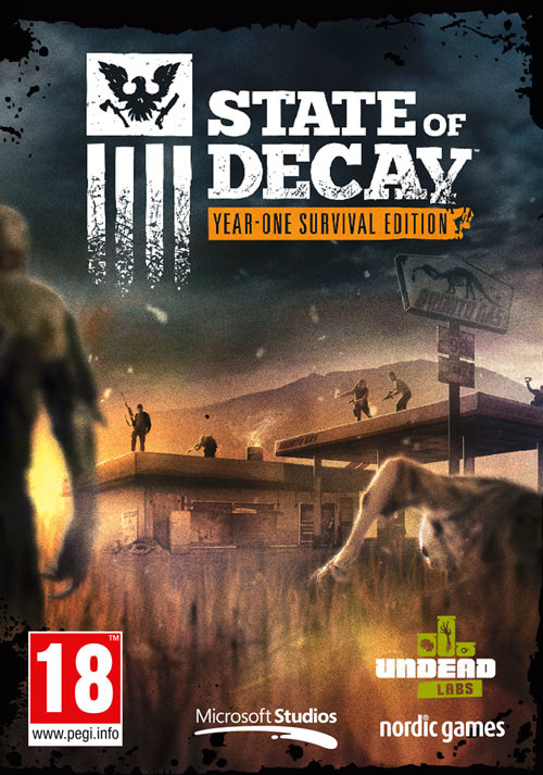 State of Decay: Year One Survival Edition - Cover