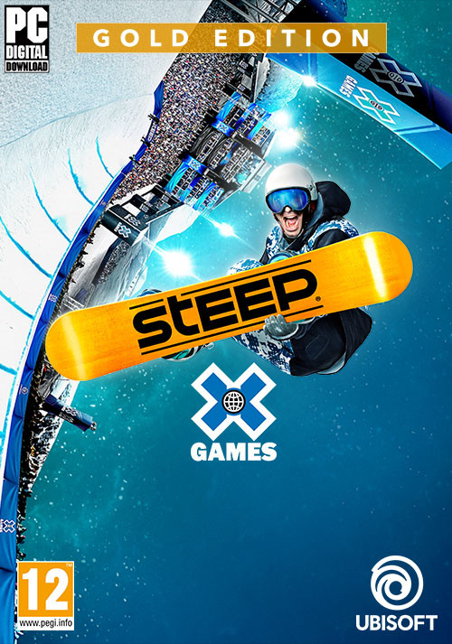 Steep X Games Gold Edition - Cover