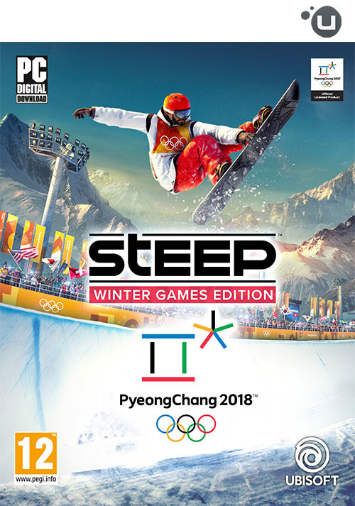 STEEP Winter Games Edition - Cover