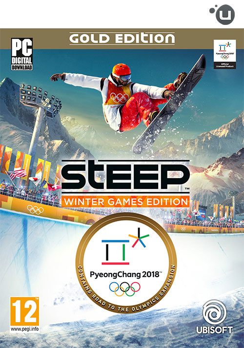 STEEP Winter Games Gold Edition - Cover