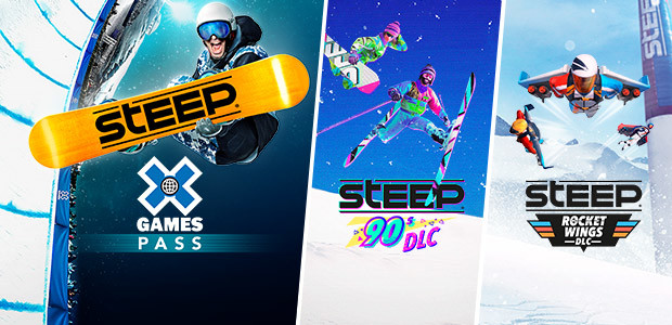 Steep X Games Pass - Cover / Packshot