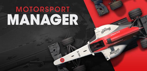 Motorsport Manager - Cover / Packshot