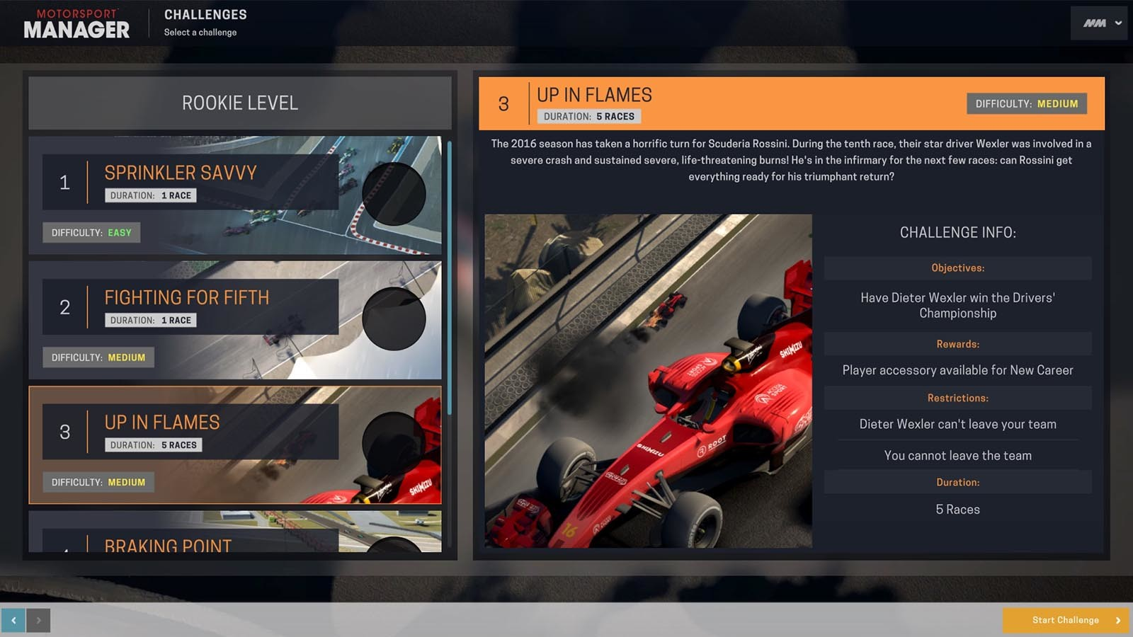 Motorsport Manager - Challenge Pack [Steam CD Key] für PC, Mac und ...