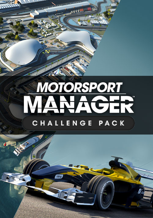 Motorsport Manager - Challenge Pack - Cover