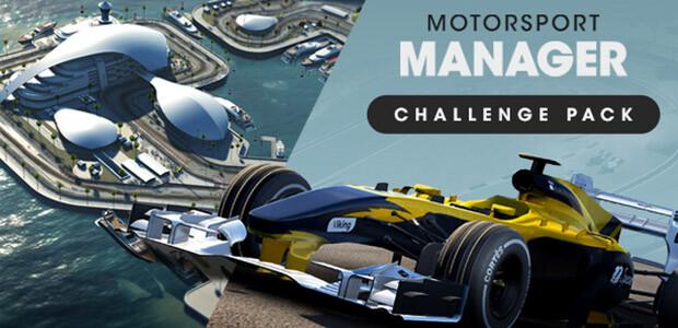 Motorsport Manager - Challenge Pack - Cover / Packshot