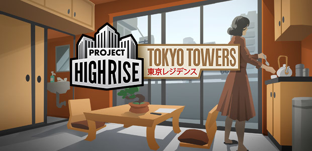 Project Highrise: Tokyo Towers - Cover / Packshot