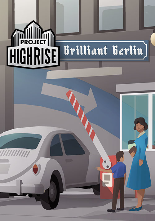 Project Highrise: Brilliant Berlin - Cover / Packshot