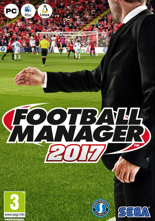 Football Manager 2017 - Packshot