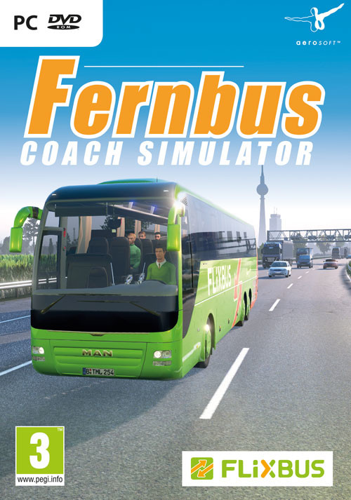 Fernbus Coach Simulator - Cover / Packshot