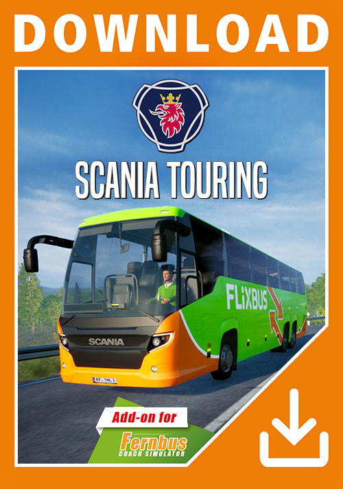 Fernbus Simulator - Scania Touring - Cover / Packshot