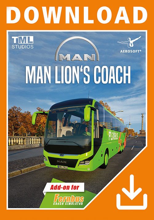 Fernbus Simulator - MAN Lion's Coach 3rd Gen - Cover / Packshot