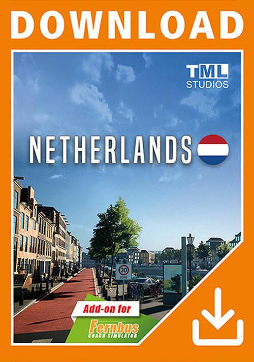 Fernbus Simulator - Netherlands - Cover / Packshot