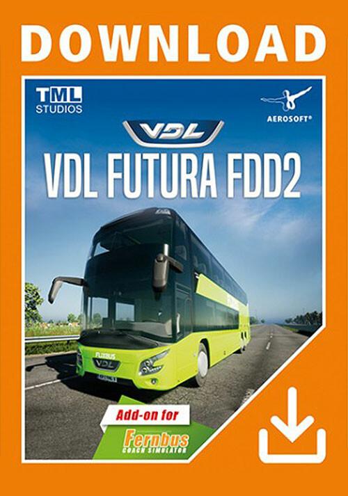Fernbus Simulator - VDL Futura FDD2 - Cover / Packshot