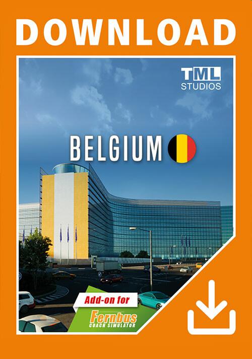Fernbus Simulator - Belgium - Cover / Packshot