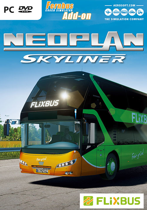 Fernbus Simulator Add-On - Neoplan Skyliner - Cover / Packshot