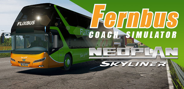 Fernbus Coach Simulator Add-On - Neoplan Skyliner - Cover / Packshot
