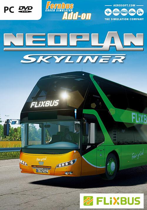Fernbus Coach Simulator Add-On - Neoplan Skyliner - Packshot