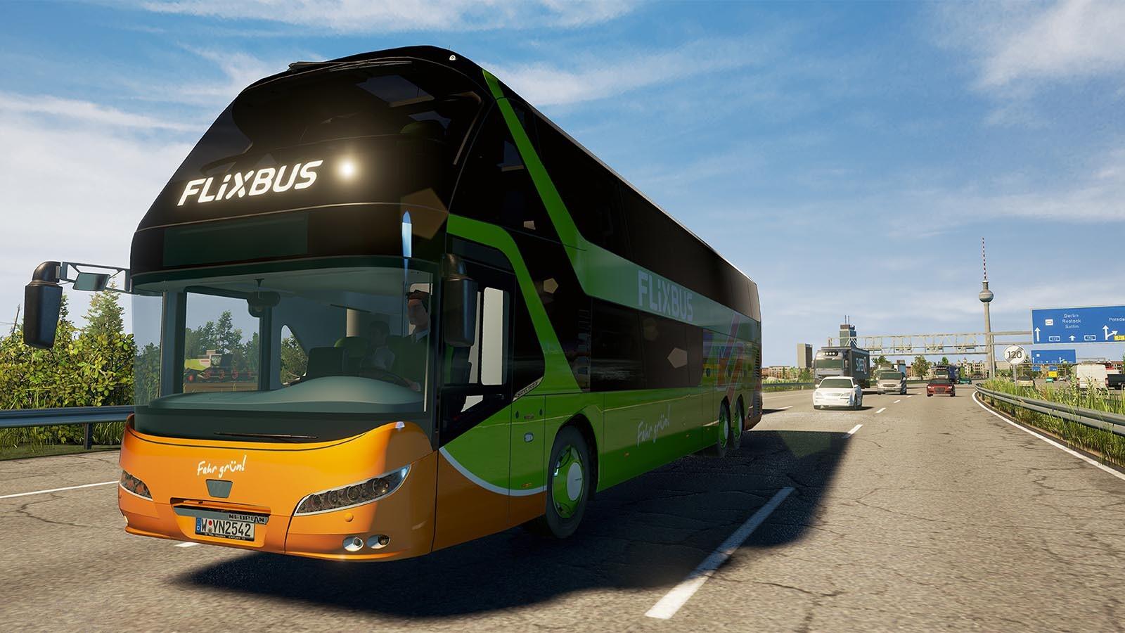 fernbus coach simulator add on neoplan skyliner steam. Black Bedroom Furniture Sets. Home Design Ideas