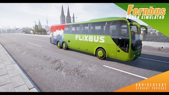 Screenshot1 - Fernbus Simulator - Anniversary Repaint Package