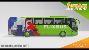Screenshot2 - Fernbus Simulator - Anniversary Repaint Package