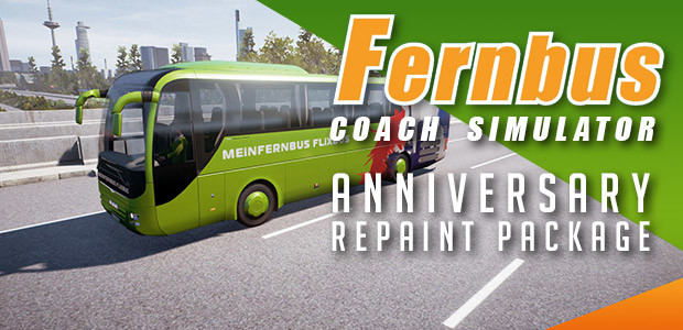 Fernbus Simulator - Anniversary Repaint Package - Cover / Packshot