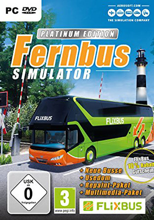 Fernbus Simulator - Platinum Edition - Cover / Packshot