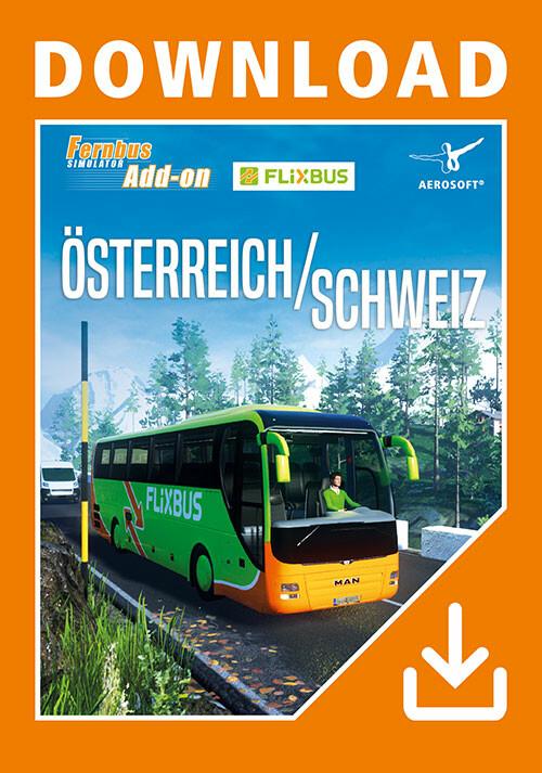 Fernbus Simulator - Austria/Switzerland - Cover