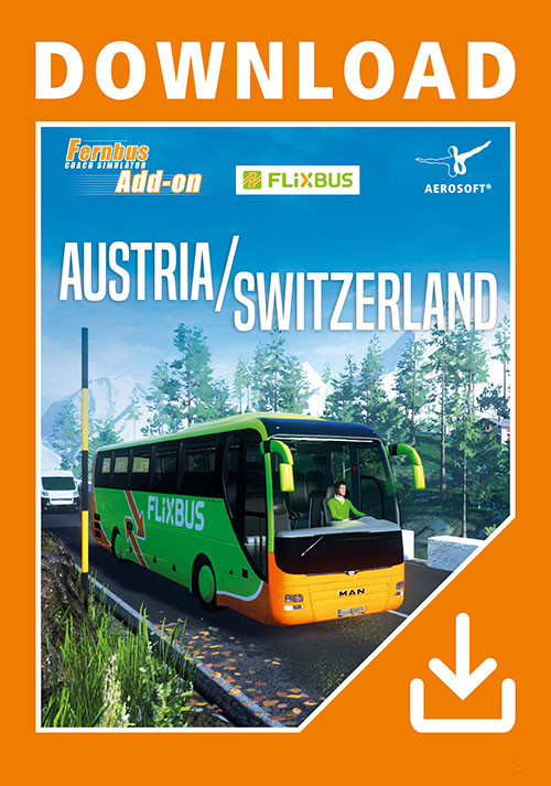 Fernbus Simulator - Austria/Switzerland - Packshot