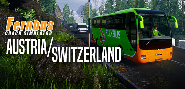 Fernbus Simulator - Austria/Switzerland - Cover / Packshot