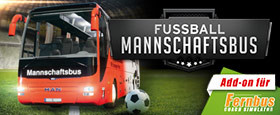 Fernbus Simulator Add-on - Fussball Mannschaftsbus