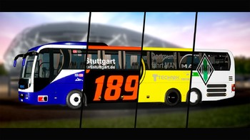 Screenshot1 - Fernbus Coach Simulator Add-on - Football Team Bus