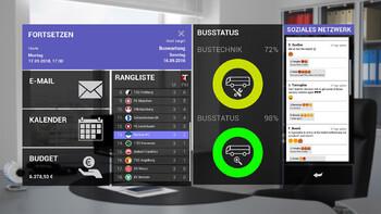 Screenshot2 - Fernbus Coach Simulator Add-on - Football Team Bus