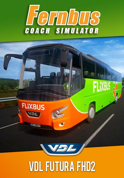 Fernbus Simulator - VDL Futura FHD2 - Cover / Packshot