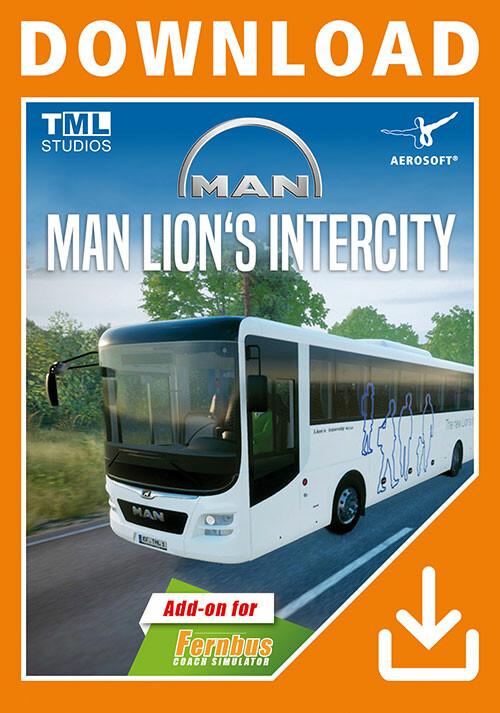 Fernbus Simulator - MAN Lion's Intercity - Cover / Packshot