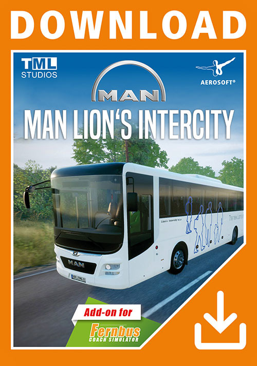 Fernbus Simulator - MAN Lion's Intercity - Cover / Packshot
