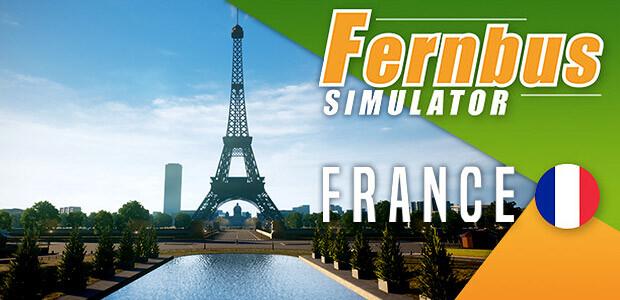 Fernbus Simulator - France - Cover / Packshot