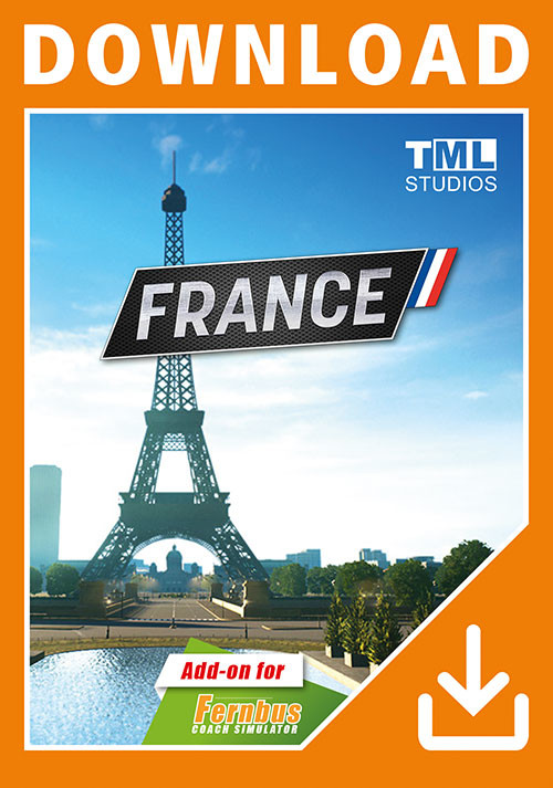 Fernbus Simulator - France - Cover / Packshot