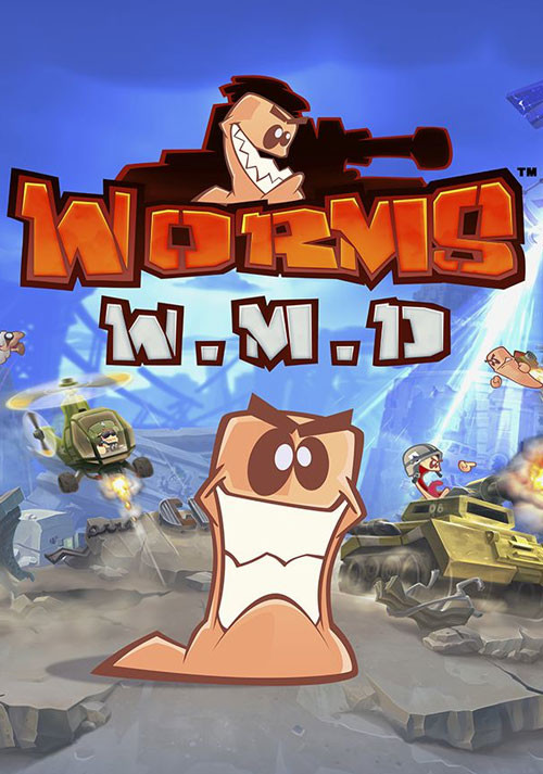 Worms W.M.D - Cover