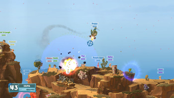 Screenshot4 - Worms W.M.D
