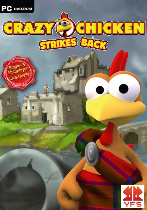 Crazy Chicken Strikes Back - Cover / Packshot